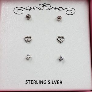 Other - ⚡Flash Sale⚡Children's Sterling Silver earrings